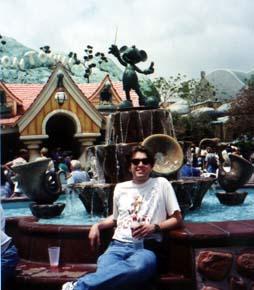 Steve at Disneyland