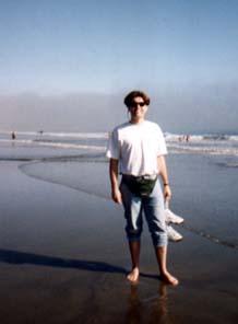 Steve at Stinson Beach