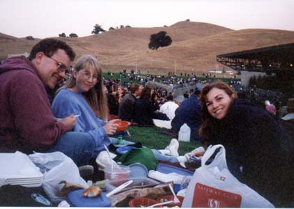Aaron, Vera, and Anne at the Tori Amos/Alanis Morrisette Concert