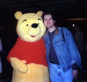 Steve with Winnie the Pooh