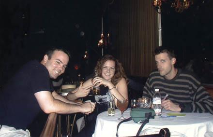 Chris, Kirsten, and Dan