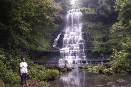 Anne at Carmac Falls