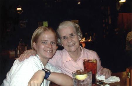 Susan and Grandma Hoots