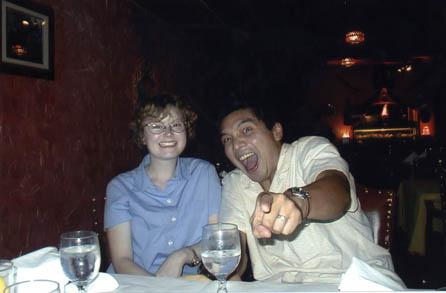 Jose and Mandy