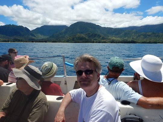 Steve on Na Pali Coast