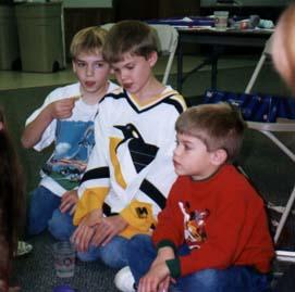 Samuel, Josh, and Austin