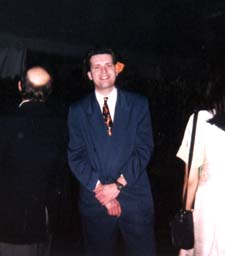 Steve at the 1999 Lucasfilm Holiday Party