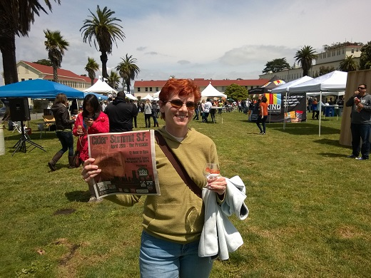 Anne at Cider Summt SF 2015