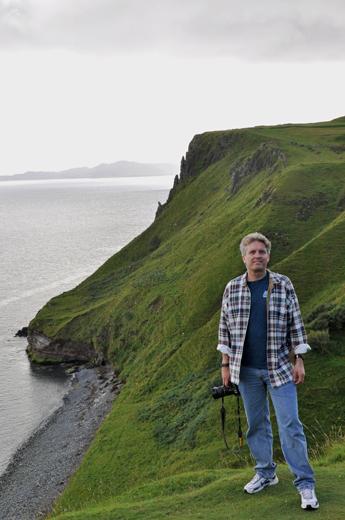 Steve on the coast