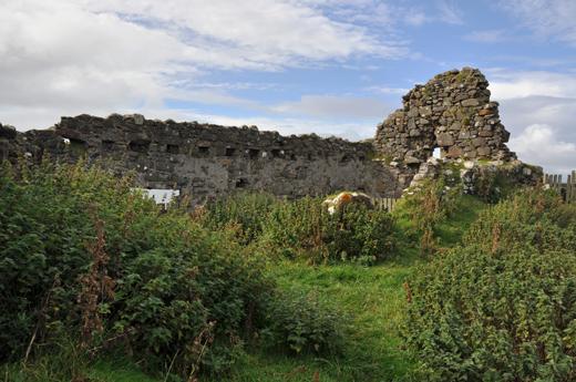 ruins of Duntulm