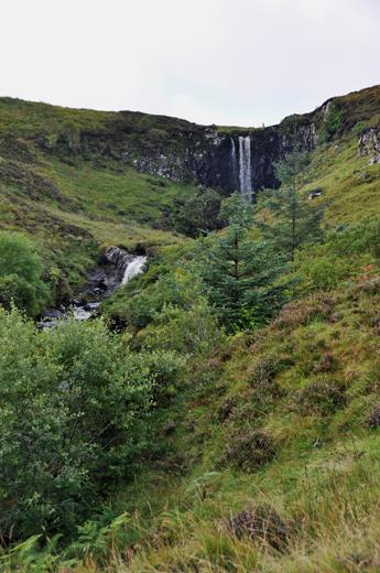 waterfall on Isle of Skye