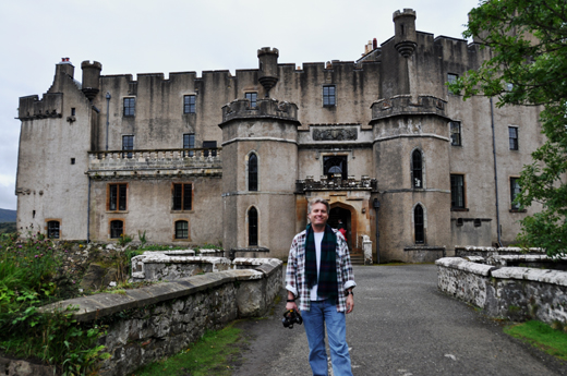 Steve at Dunvegan Castle