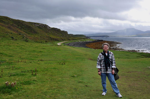 Steve near Dunvegan Castle