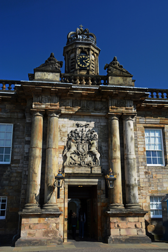 Palace at Holyrood House