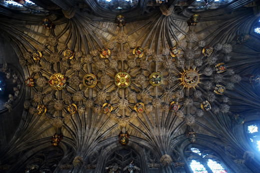 the Thistle Chapel at St. Giles Cathedral
