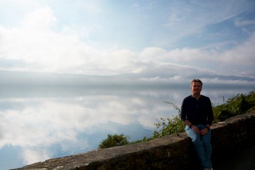 Steve at Loch Ness