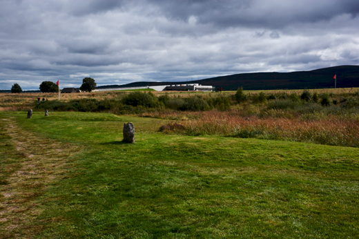 Clan grave markers at Culloden Battlefield