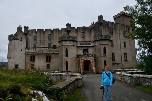 Anne at Dunvegan Castle