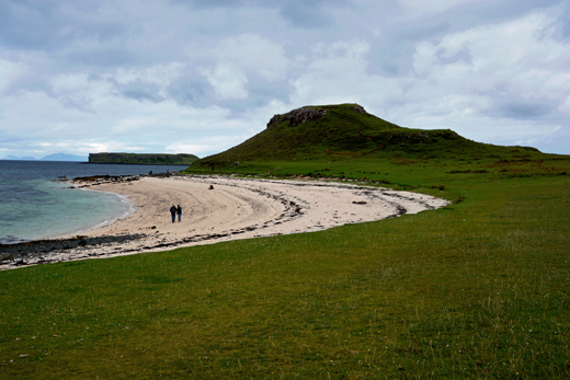 coral beach near Dunvegan Castle