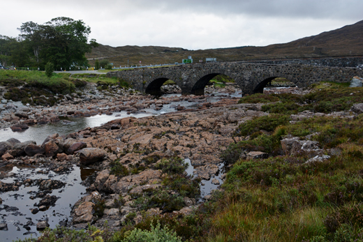 bridge near Sligachan Hotel