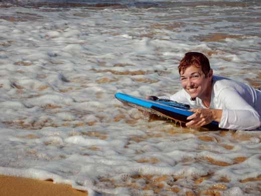 Anne boogie boarding