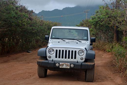 Steve in Jeep