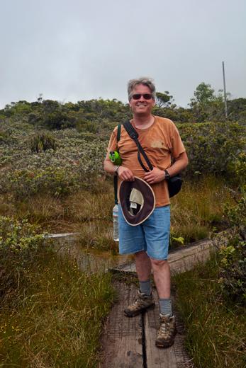 Steve in Alakai Swamp
