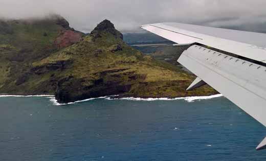 Arriving on Kauai