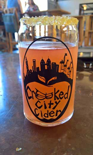 Sour Patch Crooked City cider