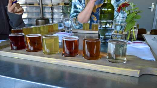 Flight of Sonoma Cider